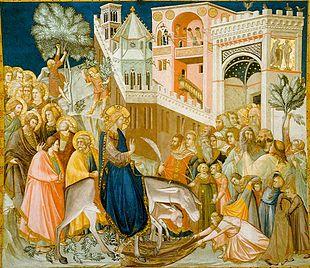 Triumphant entry