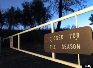 Government Shutdown Forces Closings In Southern California