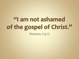 Ashamed of God 1